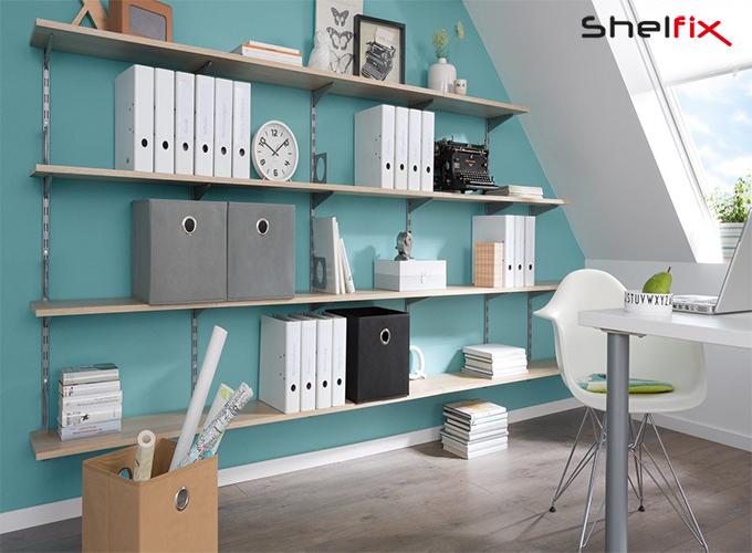 شلف ها و یا دکور چوبی در طراحی داخلی