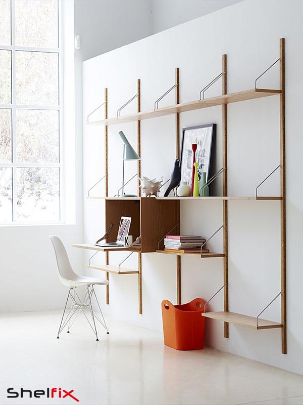 کاربرد شلف ها در طراحی داخلی دفتر کار