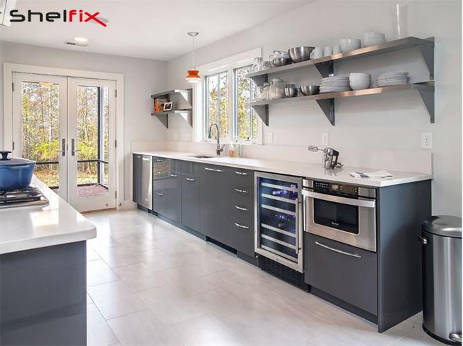 انواع شلف در آشپزخانه