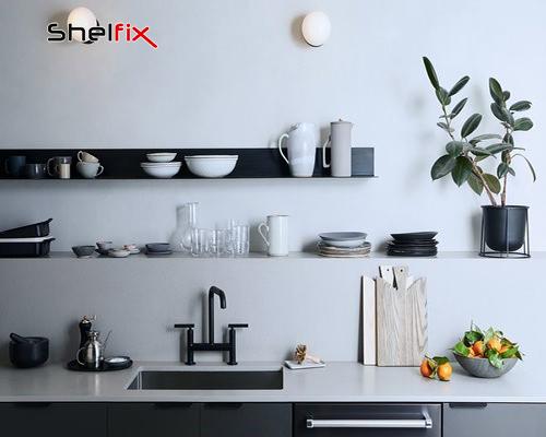 شلف در آشپزخانه