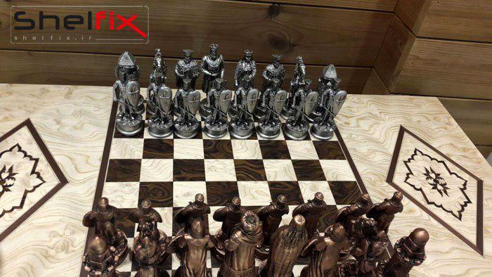 نیم ست شطرنج و تخته نرد