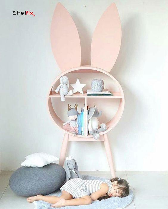 شلف دیواری اتاق کودک و نوزاد