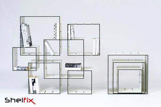 شلف های خلاقانه برای طراحی دکوراسیون لابی