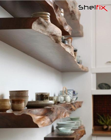 شلف ها انتخاب مناسب برای پوشش دیوار