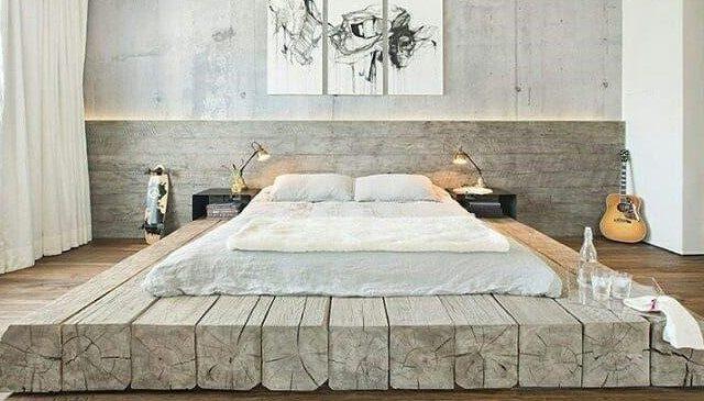 تخت چوبی مدرن