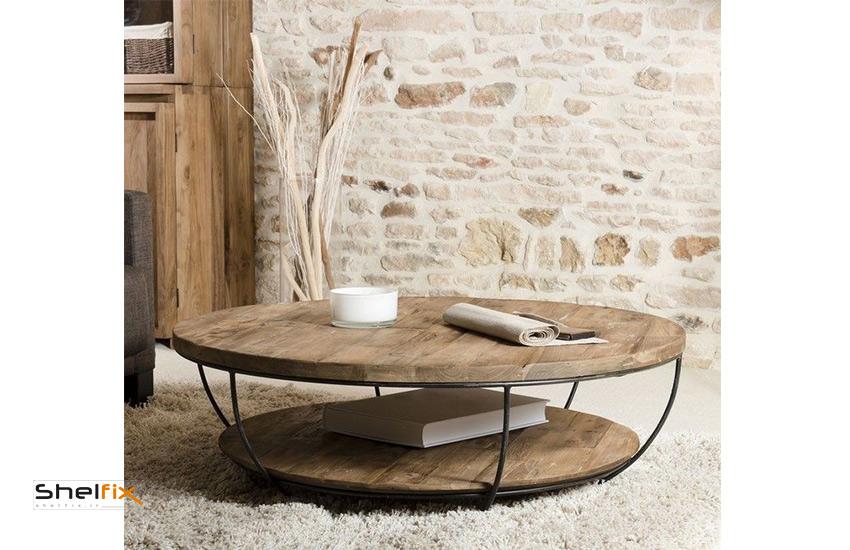میز پذیرایی چوبی